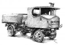 Škoda Sentinel - kropící vůz