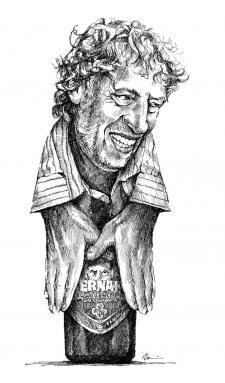 Stanislav Bernard - karikatura