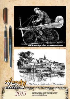 Kalendář VENDY atelieru na rok 2015