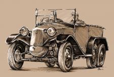 Tatra T26/30 - rok výroby 1930