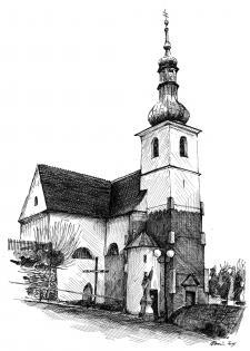 Rosice u Brna - kostel sv. Martina