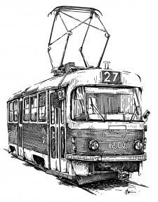 Tramvaj Tatra T3