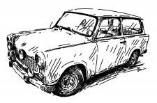 Trabant 601 Combi