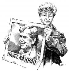 Havel na Hrad!