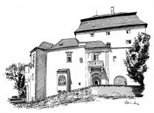Miroslav - zámek