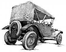 Tatra 12 pheatton 1927