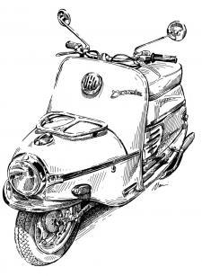 ČZ 175/502 Čezeta