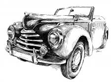 Škoda Tudor 1102 roadster 1949