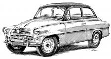 Škoda 440 Spartak - 1957