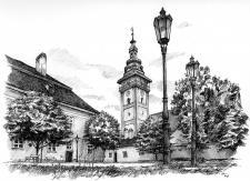 Zámecké nádvoří, Moravské Budějovice