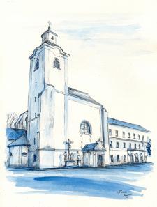 Klášterní kostel sv. Bartoloměje, Moravský Krumlov
