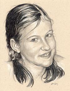 Zuzka - portrét