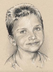 Honzík Foltýn - kresba