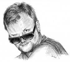 Autoportrét - Miroslav Vomáčka