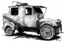 Obrněné vozidlo I. světové války