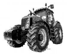 Traktor Holland