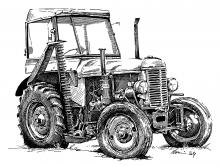 Traktor Škoda 30