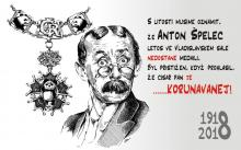 Anton Špelec - vyznamenání