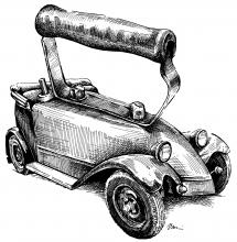 Tatra - žehlička