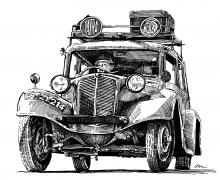 Tatra 57 A STW