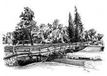 Zámecký most - Jaroměřice nad Rokytnou