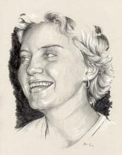 Vanda Strejčková - portrét