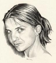 Romana Foltýnová - kombinovaná kresba