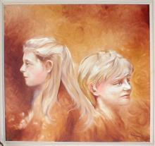 Eva a Roman - olejomalba