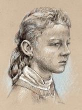 Eva - portrét