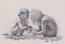 Děti - kresba