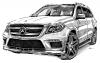 GL SUV Mercedes-Benz